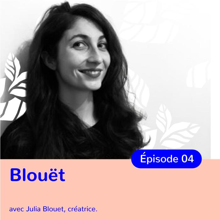 Julia Blouet, Fondatrice de Blouët, maroquinerie éthique française
