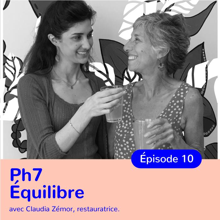 Claudia Zémor, fondatrice du restaurant PH7, cuisine respectueuse de l'équilibre acido-basique