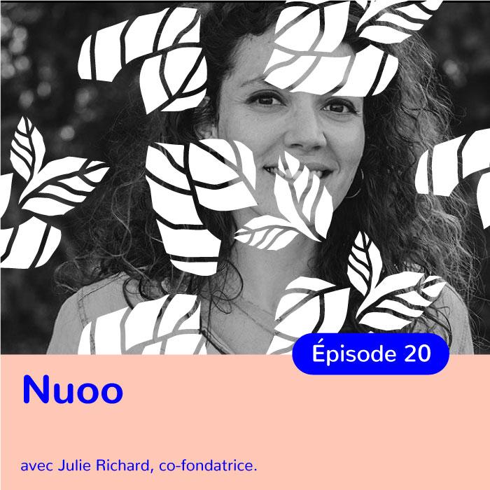 Julie Richard, co-fondatrice de Nuoo, la 1ère box beauté naturelle et bio