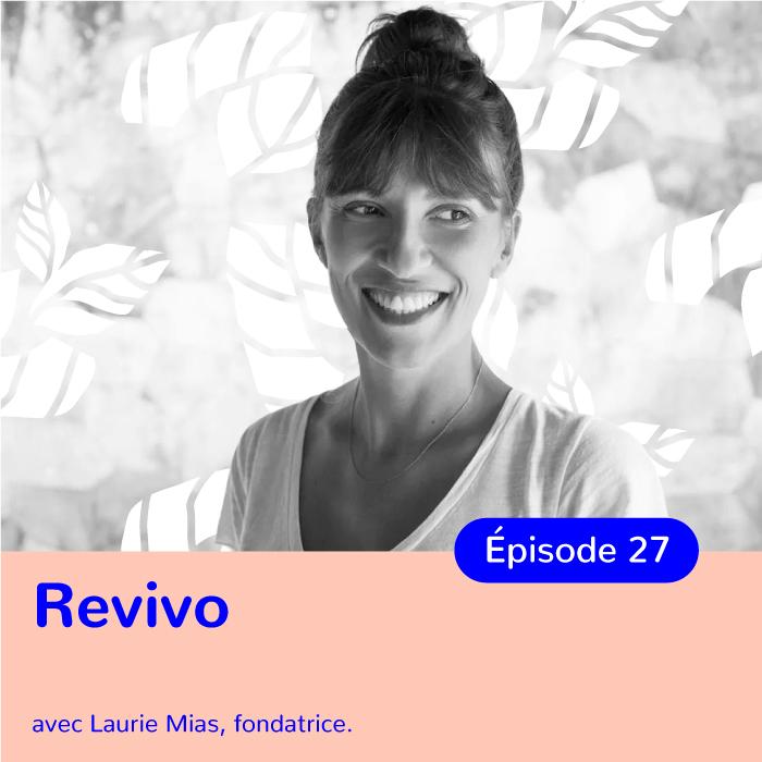 Laurie Mias, fondatrice des spas Revivo
