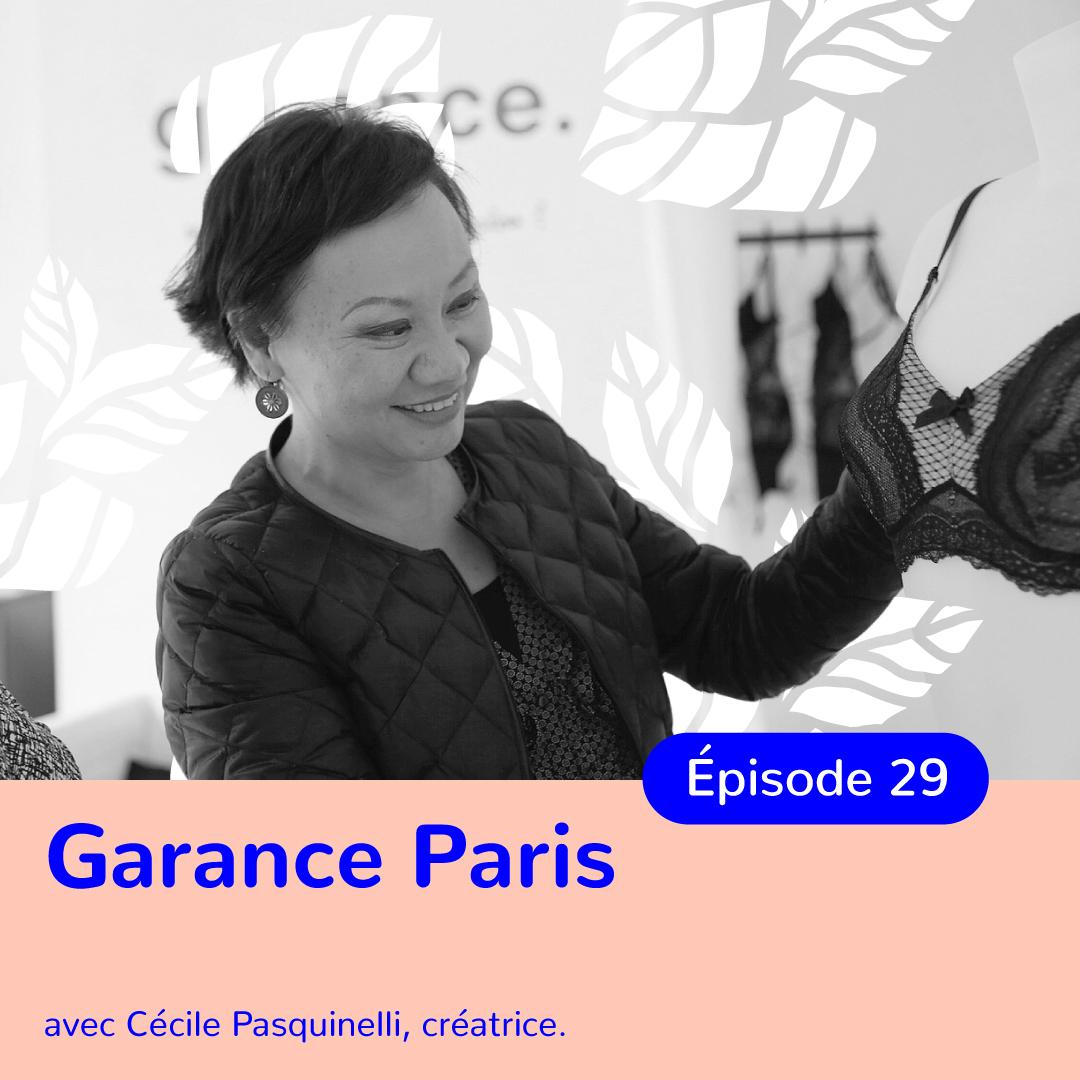 Cécile Pasquinelli, fondatrice de Garance, quand la maladie mène à l'entrepreneuriat
