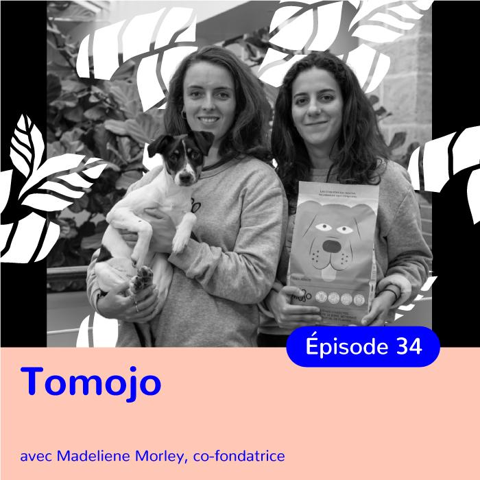 Madeleine Morley, co-fondatrice de Tomojo, les croquettes aux insectes pour limiter l'empreinte écologique de nos animaux de compagnie