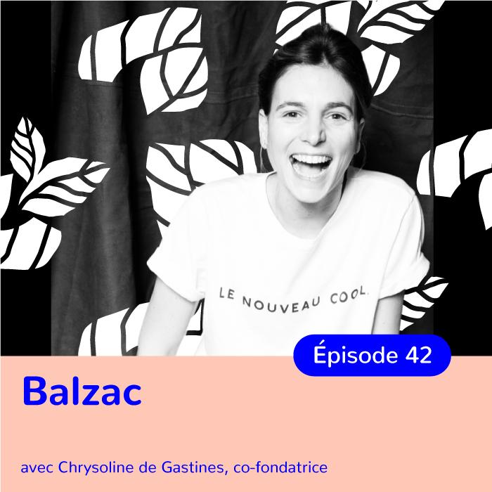 Chrysoline de Gastines, co-fondatrice de Balzac Paris, militer pour une mode toujours plus responsable