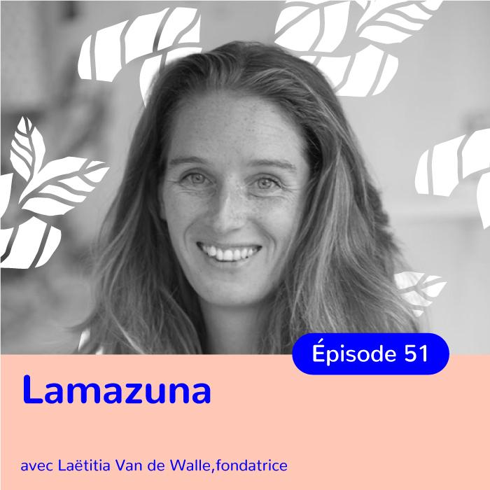 Laëtitia Van de Walle, fondatrice de Lamazuna, pionnière du zéro déchet en France
