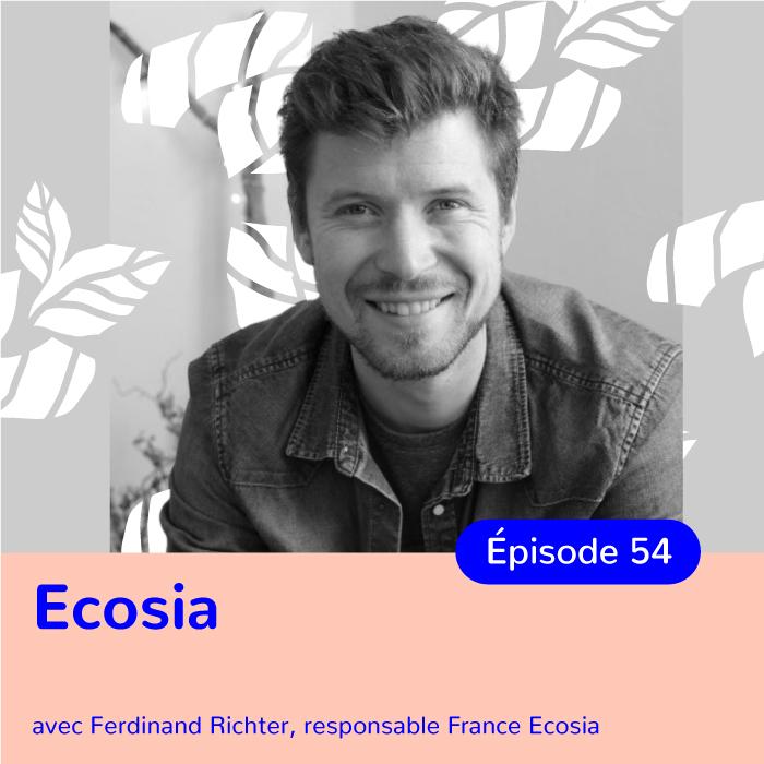 Ferdinand Richter, responsable France d'Ecosia, ancien sportif de haut niveau, changer de vie grâce à la reconnection à la Nature et à la découverte de la permaculture