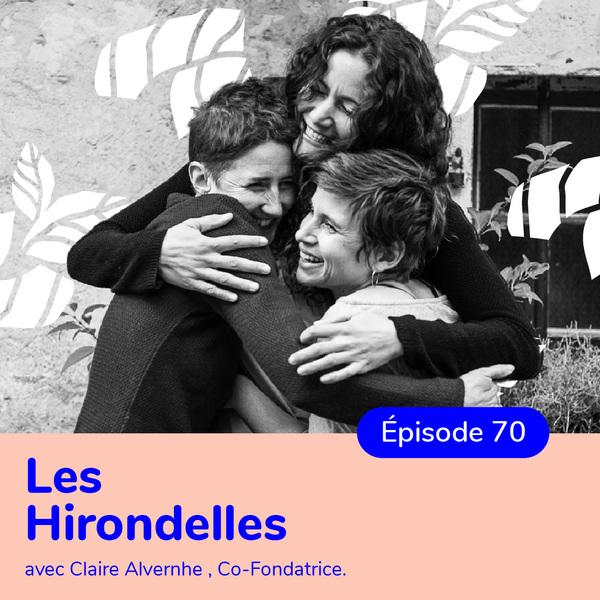 Claire Alvernhe, co-fondatrice Les Hirondelles, un vestiaire confectionné à moins de 800km