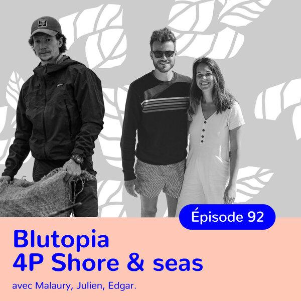 Edgar, Julien et Malaury, militant.e.s pour la préservation de l'océan